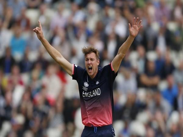 EnglandÂ's Jake Ball appeals for a wicket