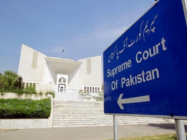 A view of the Supreme Court of Pakistan in Islamabad