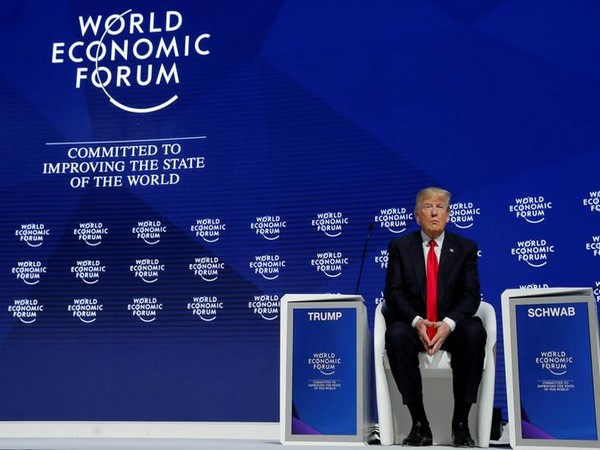 U.S. President Trump attends the World Economic Forum annual meeting in Davos