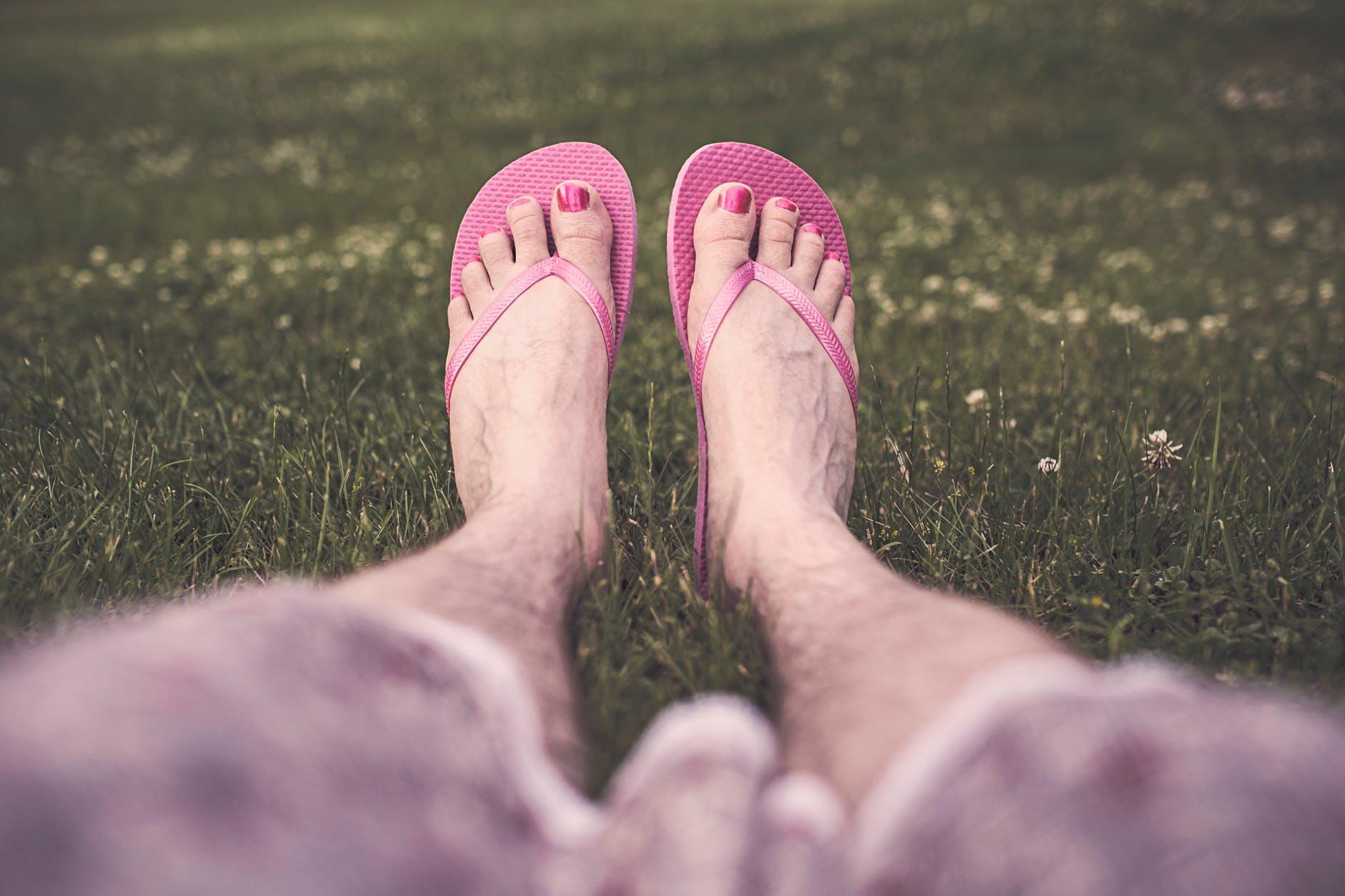 man-feet-legs-relaxing