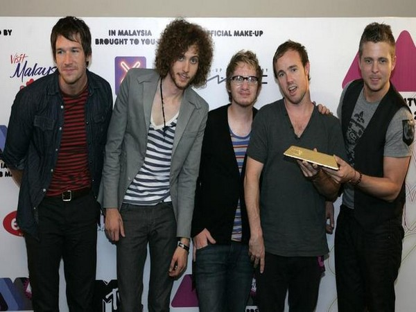 U.S. rock band OneRepublic pose after receiving MTV Asia Awards 2008, Best Hook-up, in Genting Highlands outside Kuala Lumpur