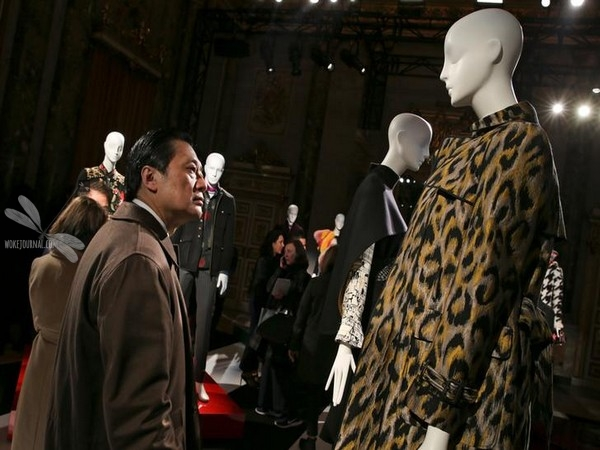 Creations from the Shanghai Tang Autumn/Winter 2018 women collection are seen during Milan Fashion Week in Milan